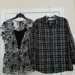 Bundle of Women's Casual Dressy Tops
